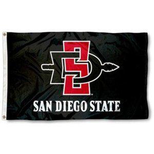 San Diego State University Flag